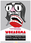 wokasoma florian schröder opus leopard pop art kunst galerie kunsthalle ulmer münster jubiläum tobias schrade