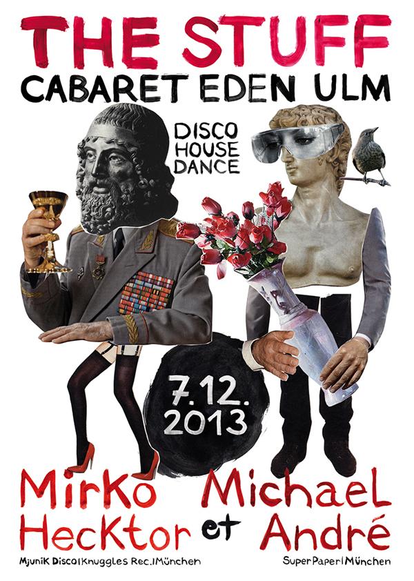 wokasoma party eden ulm club disco pop art contemporary art
