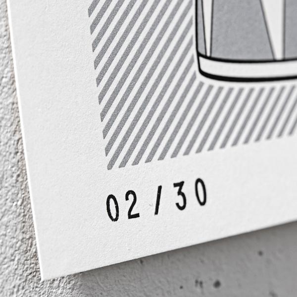 wokasoma florian schröder print siebdruck silver edition opus leopard pop art kunst galerie kunsthalle